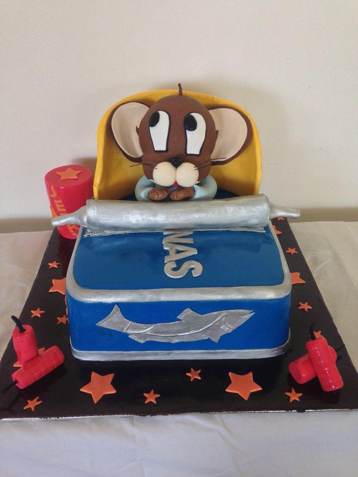 Jerry In a Sardines tin cake