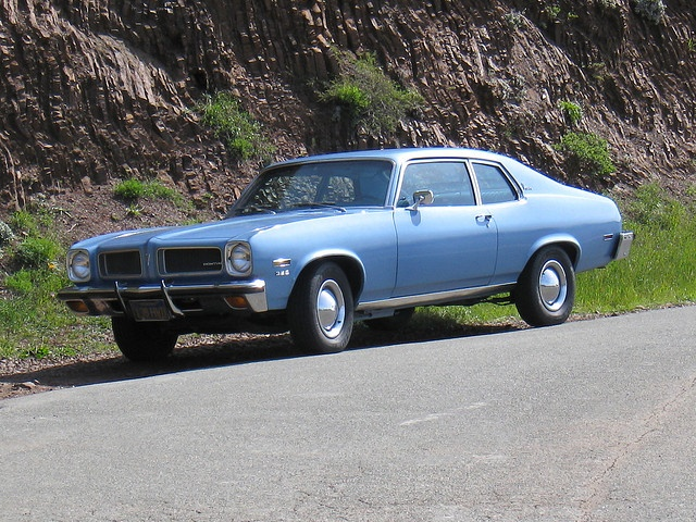 """1973 Pontiac Ventura Custom 'Sprint'. Watch the 1970's cop movie """"The 7-Ups"""" with its incredible car chase through the streets of New York, and you will understand the appeal of this car."""