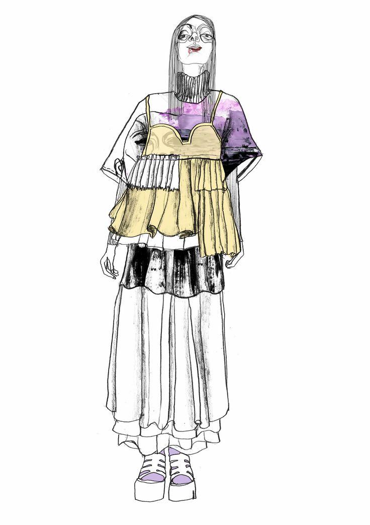 fashion illustration westminster 2015 westminster fashion illustration giryung
