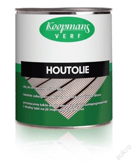 HOUTOLIE napouštěcí olej lněný bezbarvý UV 0,75l - udělejte svému dřevu radost