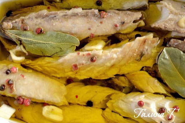 Скумбрия как из консервы и испанская тортилья: halynatykhoruk