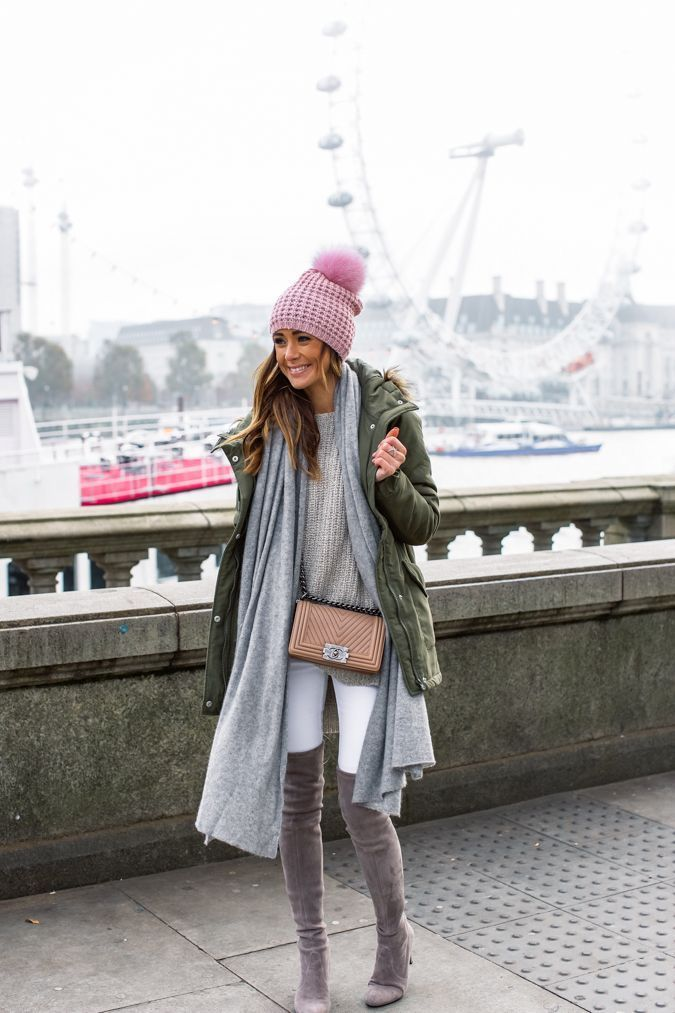 winter layers in London