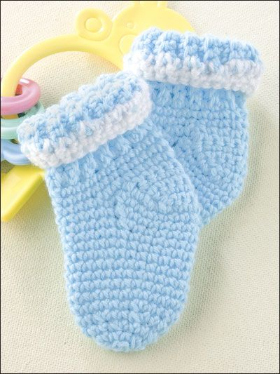 Crochet Socks Pattern For Babies : 17 Best ideas about Crochet Baby Socks on Pinterest ...