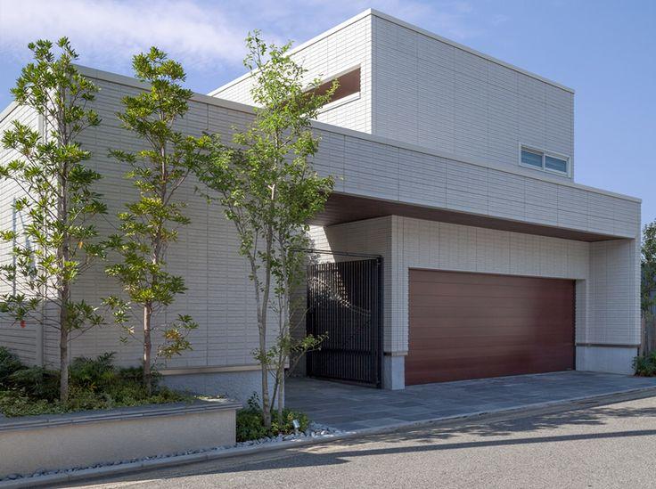 白のコートハウス|Premium Design Selection|戸建住宅|積水ハウス