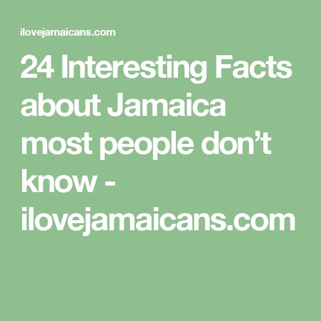 Best Facts About Jamaica Ideas On Pinterest Music Bob Marley - 12 interesting facts about jamaica