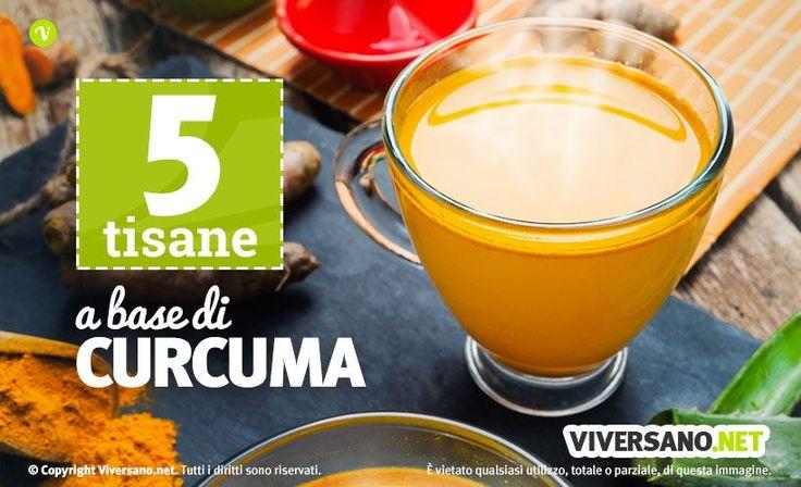 Tisana alla curcuma: benefici e 5 ricette