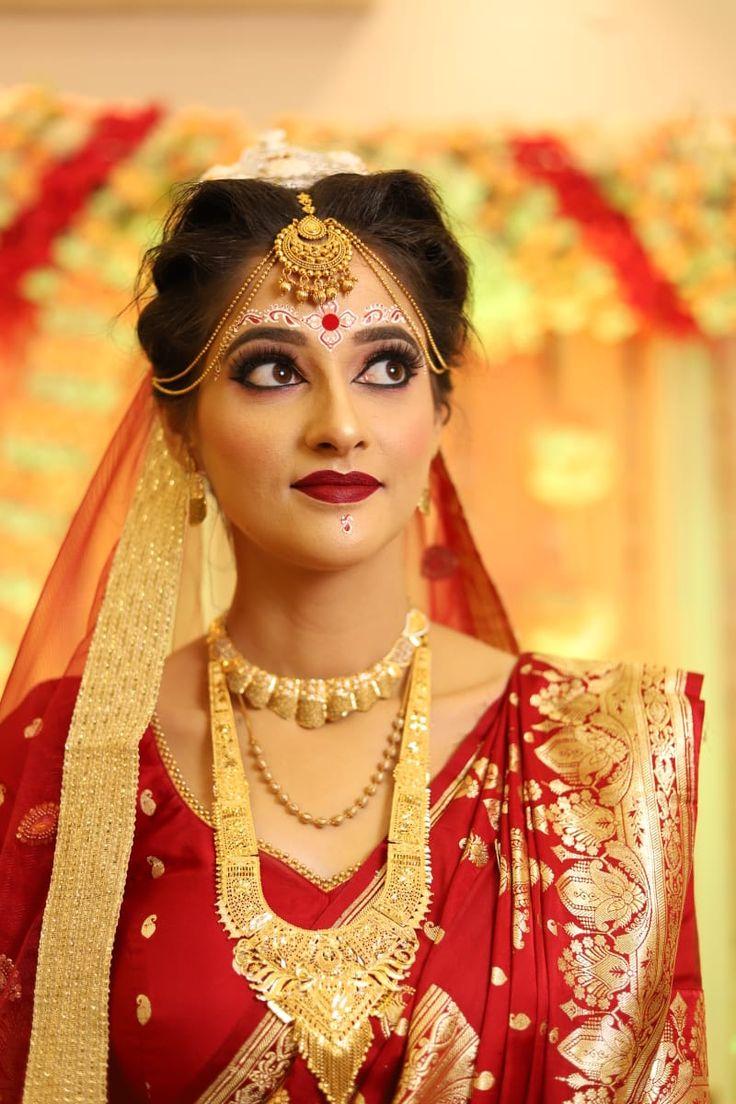 Pin on best bridal makeups kolkata