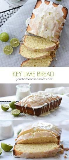 Key Lime Bread Recip Key Lime Bread Recipe - Key Lime Bread will...  Key Lime Bread Recip Key Lime Bread Recipe - Key Lime Bread will have you dreaming of Florida beaches and ocean breezes. The lime glaze packs the perfect lime punch! from Your Homebased Mom Recipe : http://ift.tt/1hGiZgA And @ItsNutella  http://ift.tt/2v8iUYW
