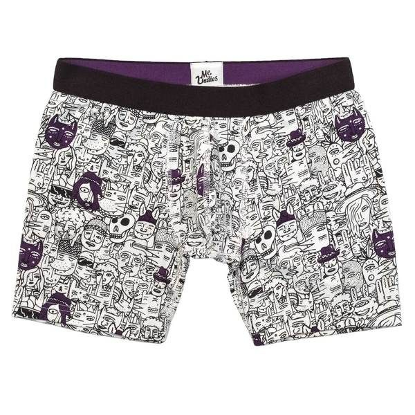 Boxer Brief in Faces by Young & Sick
