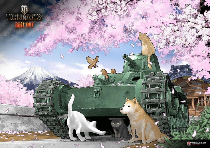 Part 3: Chi-Ni / Takashi Ino   Illustration Column   World of Tanks
