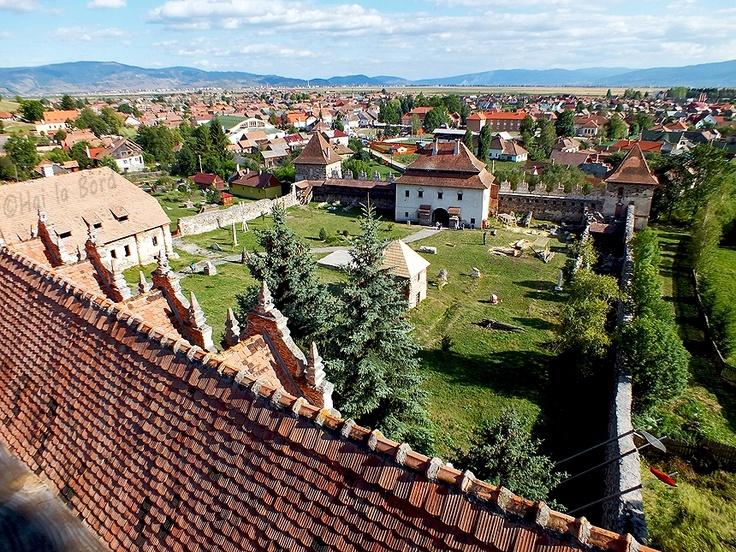 panorama castel lazarea