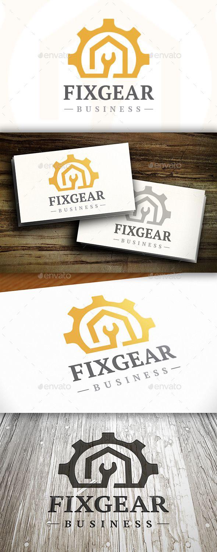 273 best logo computer repair images on pinterest fonts texts fix gear logo magicingreecefo Images