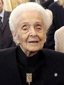 Rita Levi-Montalcini - Wikipedia, the free encyclopedia
