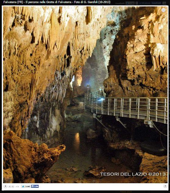 Alla scoperta delle più belle #grotte del #Lazio #Italy: Il Monumento Naturale Grotte di #Falvaterra (FR) e Rio Obaco