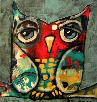 SUZAN BUCKNER - owl