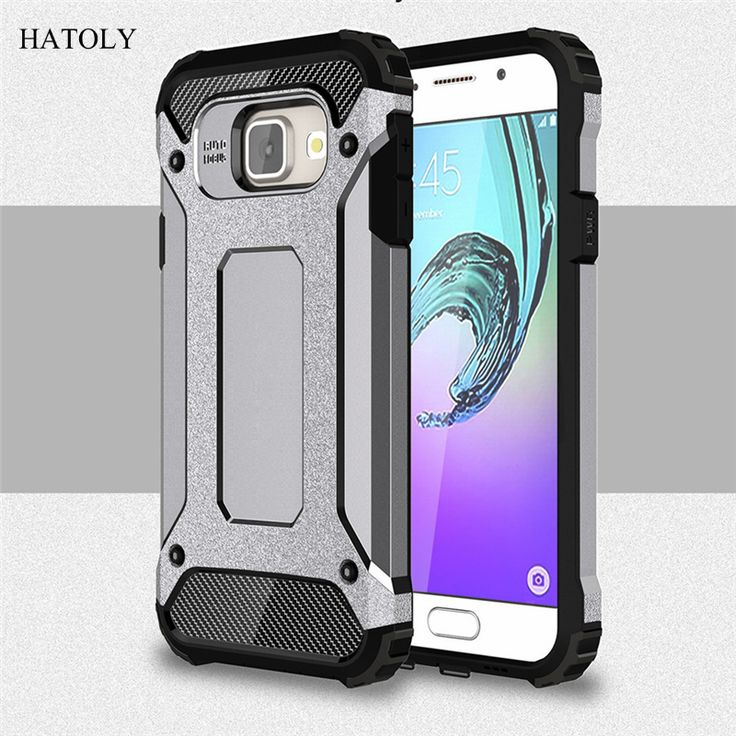 For 2016 Samsung Galaxy A3 Phone Case A310 A310F Silicone Cover For Samsung A3 2016 Case Shockproof Hard Tough Rubber Armor (<