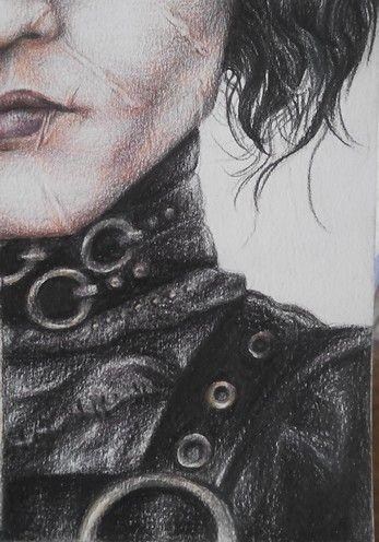 Edward Scissorhands drawing
