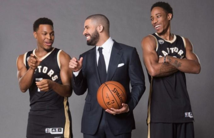 Odell Beckham Jr. isn't the only pro athlete getting previews of new Drake…