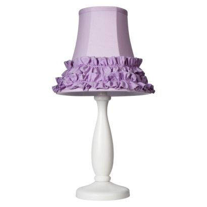 Circo 174 Ruffle Table Lamp Purple For My Daughters