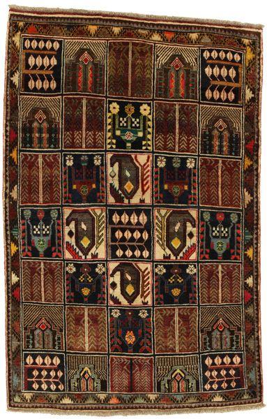 Gabbeh - Bakhtiari Persialainen matto 191x126