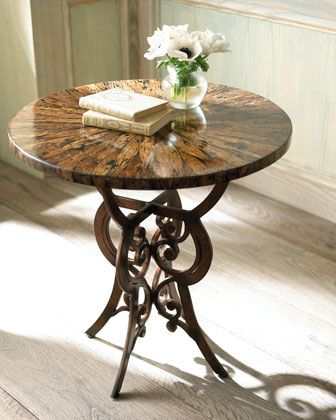 "Ambella ""Libby"" Side Table - Horchow $700 and a seventy dollar delivery and processing fee"