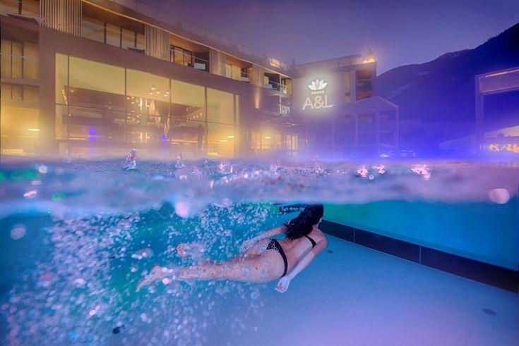 Ihr Wellnessresort im Südtiroler Ahrntal mit 3.000 m² Spa Lodge, Wellnesswelt