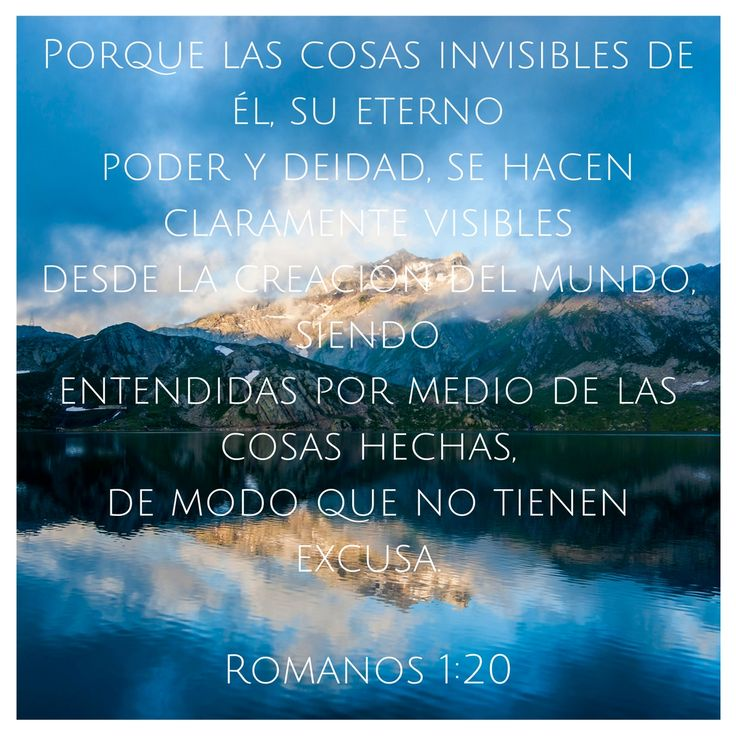 Romanos 1:20