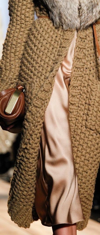 michael kors big moss stitch details ♥✤ | KeepSmiling | BeStayClassy