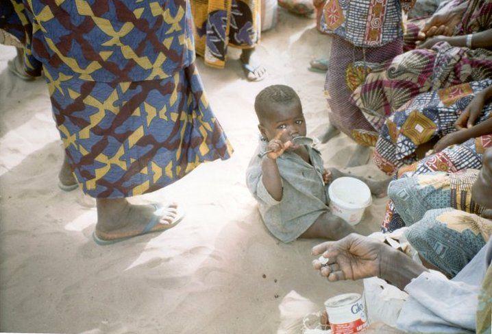 Senegal, inverno '91/'92, villaggio sul delta del fiume Saloun