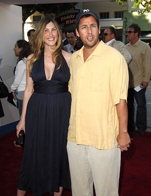 Adam Sandler and Jackie Sandler at an event for Click (2006)