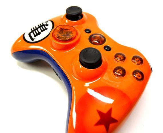Dragon Ball Z Custom Controller by LaZaModz on Etsy, $179.99