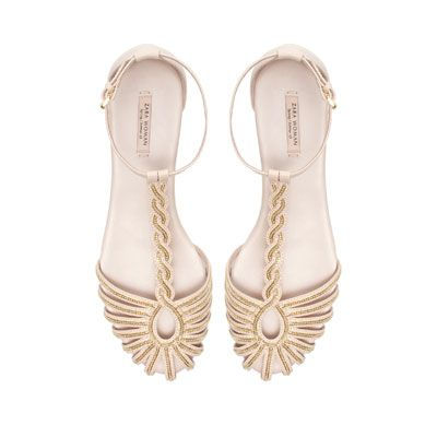 Image 1 of CHAIN SANDAL from Zara