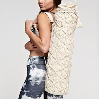 Macrame Retro Yoga Mat Bag