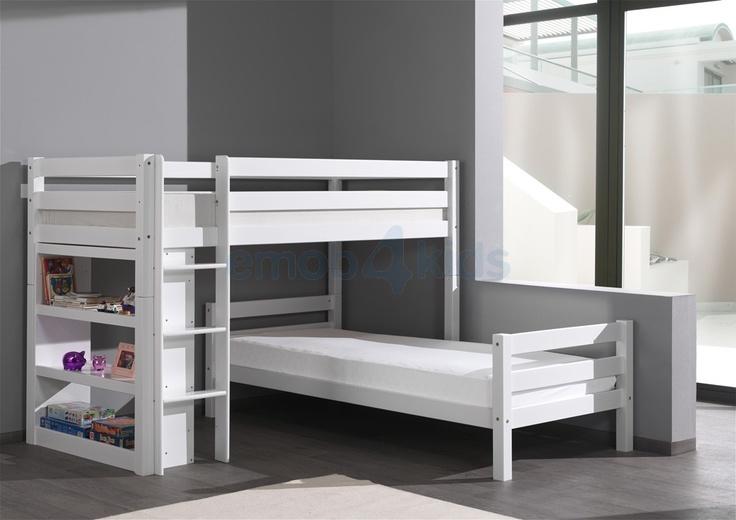 1000 images about dide en floor on pinterest bunk bed interieur and met - Loft bed met opbergruimte ...