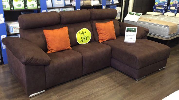 Hasta el 30 de Junio disfruta de un 20% de descuento en sofás. Sofás chaise-longues, conjuntos 3+2, sofás relax unipersonales, rinconeras, ..., ¡¡cuéntanos como es tu sofá ideal e intentaremos hacerlo realidad!!  Y ahora, llévate este sofá chaise-longue con 2 asientos con relax eléctricos y brazos abatibles con un 20% de descuento + un 20% de descuento adicional (descuento válido para el sofá de exposición), ¡¡DE LOCOS!!.  Visítanos en AVDA.DE GÁLDAR, 82 - ZONA COMERCIAL ABIERTA DE SAN…