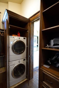 Closet Surround For Washer Dryer Would Like To See The Rest Of This Laundry  Room