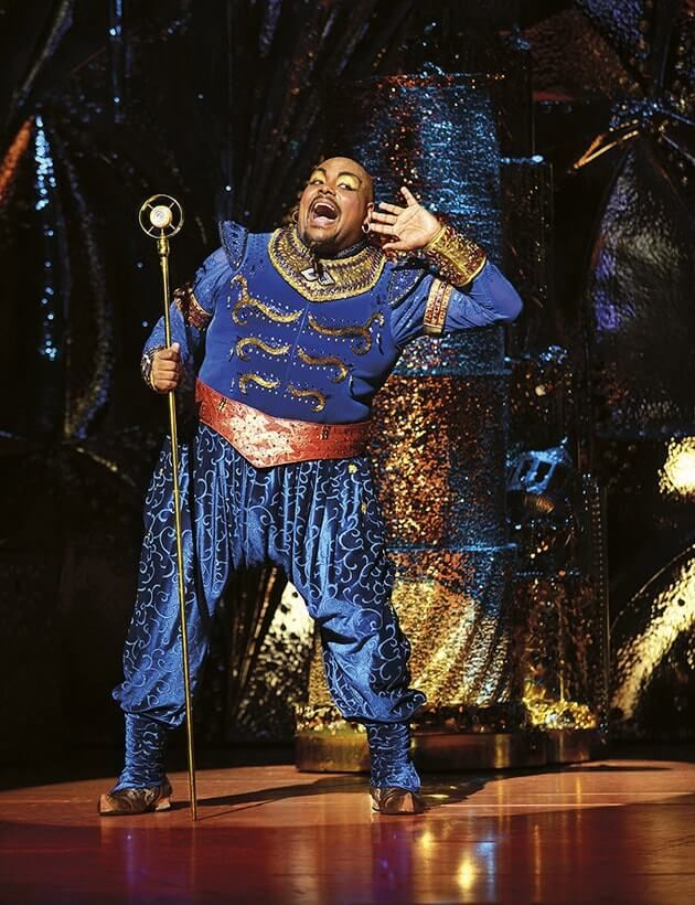 Aladdin at the Prince Edward Theatre