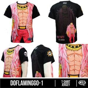 Kaos Jersey Doflaminggo 1   Kaos dan Jersey Distro Bandung