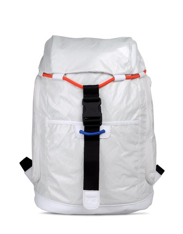 Y-3 Bungee Backpack  $340.00  So cute for Tahoe, but would be filthy after one