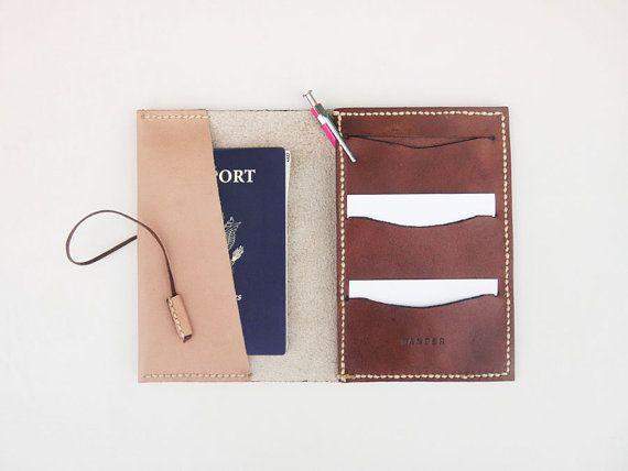Etui En Cuir De Passeport - 20 Ans Fille Par Vida Vida Xi5UK