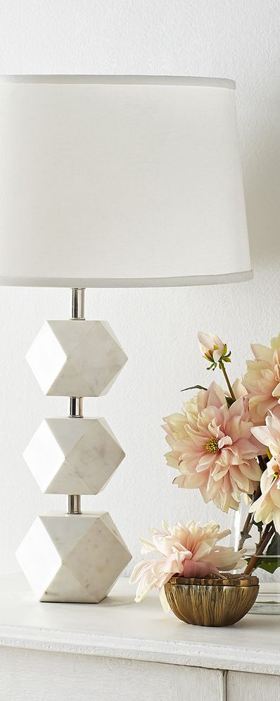 Stacked Marble Lamp