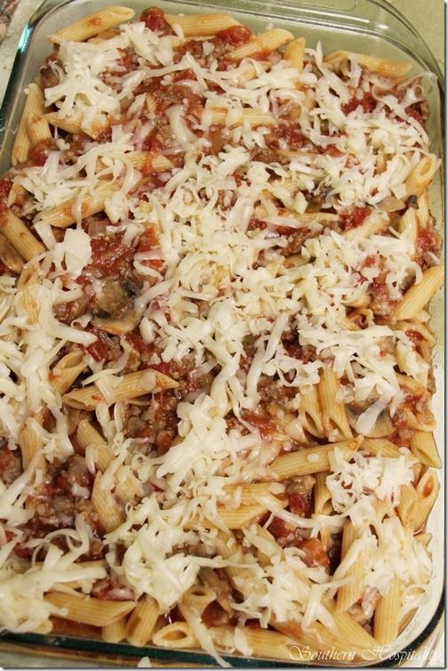 kickin baked rigatoniCooking Ideas, Food Ideas, Spicy Rigatoni, Maine Entrees, Kickin Baking, Sounds Delicate, Smaller Portion, Food Recipe, Baking Rigatoni