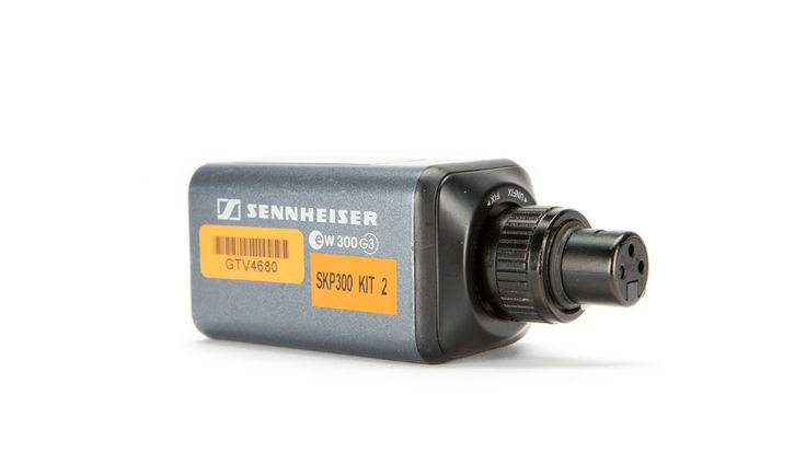 Sennehiser SKP-300 Wireless Tranmitter - Attach it to the back of any XLR Mic to wirelessly transmit sound to yoru camera or mixer
