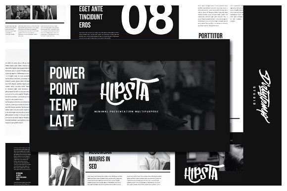 New!! Hipsta Passioned Presentation  by Dirtytemp Studio on @creativemarket