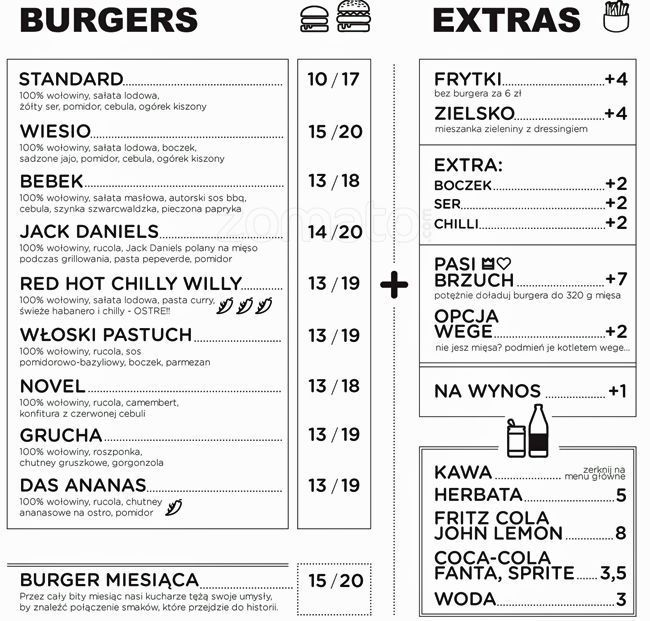 26 best Web search  - a la carte menu template