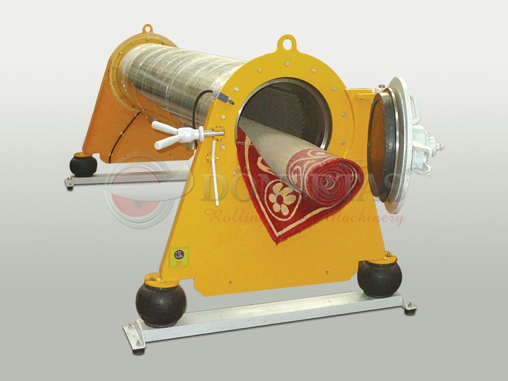 Pipe Type Carpet Spin Drainer