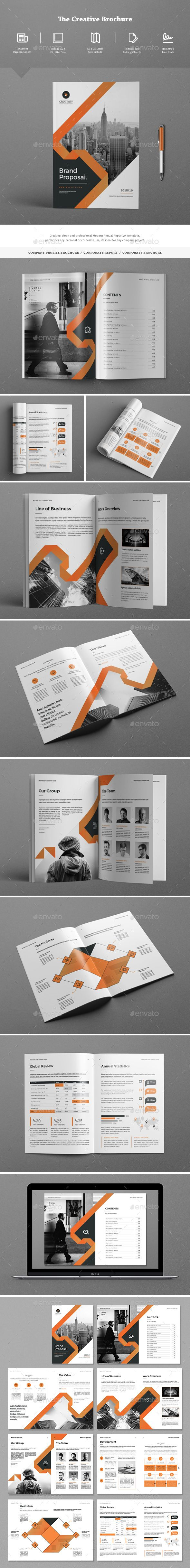 The Brochure Template InDesign INDD - 16 Pages