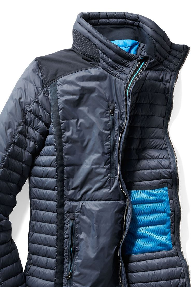 Need a jacket that transitions from trails to cocktails? Put this on your holiday wishlist. The women's Kuhl Spyfire women's down jacket doesn't skimp on details or style. Shop now at REI.com