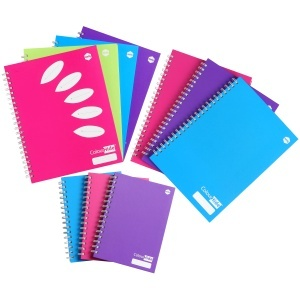 Colourful Marbig notebooks!