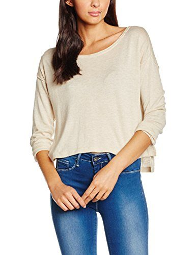 Beige 78 Pullover Pull Femme Almond Onlfrancis 42 frosted Only Knt Plain wOaFPtHq